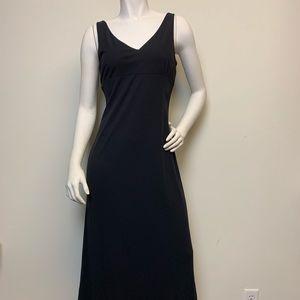 Ann Taylor Long Black Maxi Dress Size 6